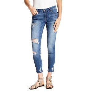 1822 Denim | Distressed Blue Jeans size 28